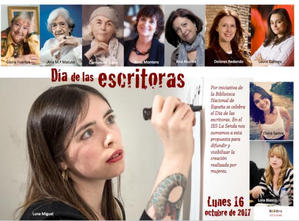 Día de las escritoras 2017 IES La Senda